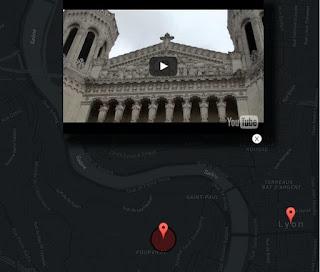 Vidéo youtube de Notre Dame de Fourvière
