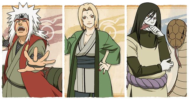 Sannin adalah 3 ninja legendaris dengan kekuatan yang hebat