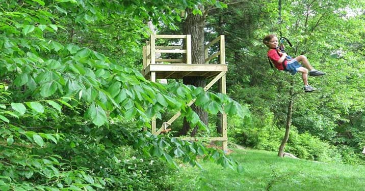 backyard zip line questions one way to build a zip line in your