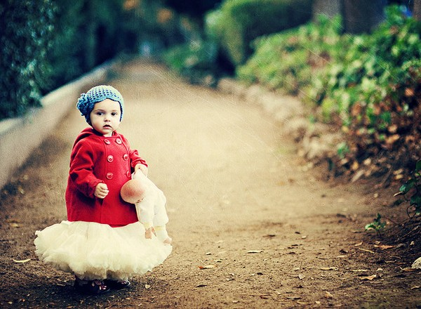 Litte Red Coat...by Shana Rae