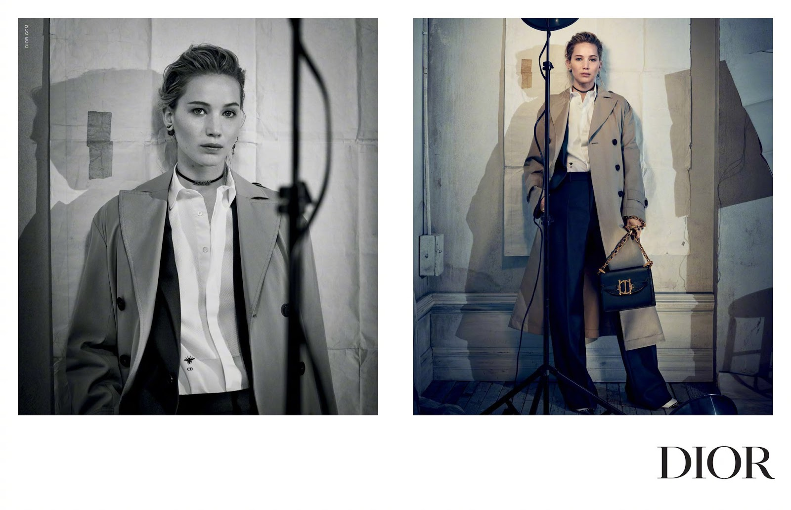 Dior Pre-Fall 2018 Ad Campaign starring Jennifer Lawrence