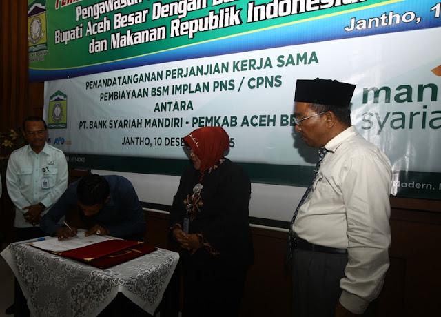 Aceh Besar Teken MoU dengan BPOM