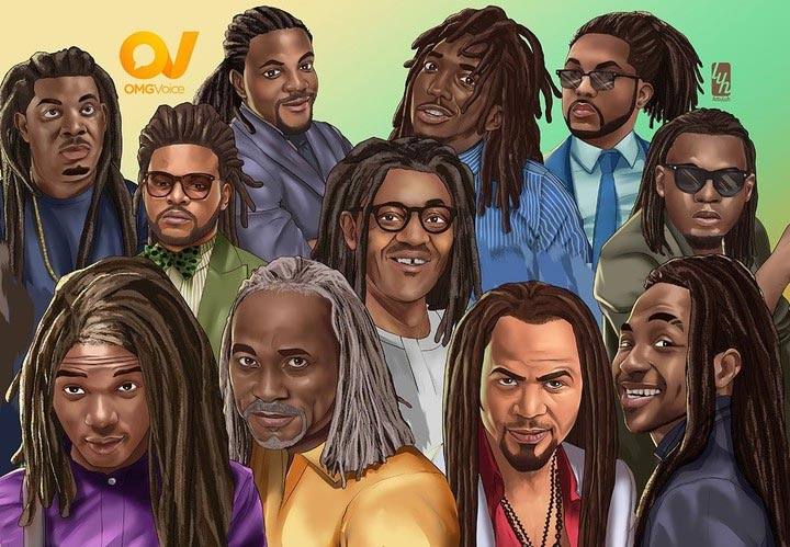 See Buhari, Don Jazzy, RMD, Davido, others in dreadlocks