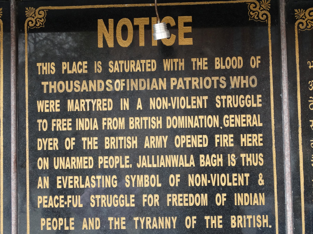 the amritsar massacre essay Here is your essay on jallianwala bagh massacre amritsar (in the punjab) in here you can publish your research papers, essays, letters.
