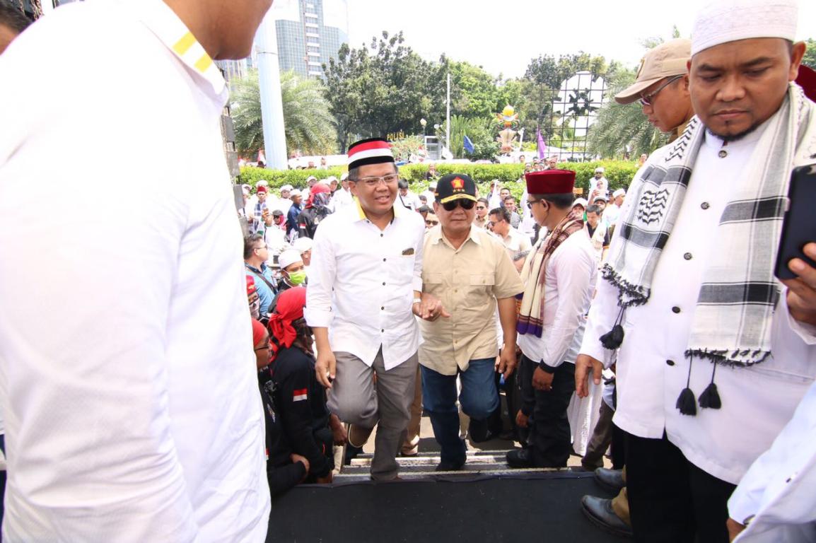 Pengakuan Prabowo di Ijtima Ulama