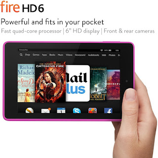 AMAZON GREAT DISCOUNT Fire HD 6, 6″ HD Display, Wi-Fi, 16 GB (Magenta) £69.99 FREE UK delivery