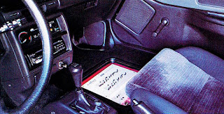 picture of Dustin Culton's 1990 Red Honda Civic's passenger side interior