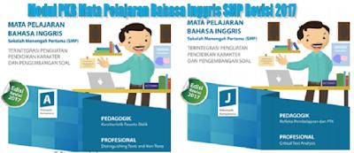 Modul PKB Mata Pelajaran Bahasa Inggris SMP Terbaru Revisi 2017