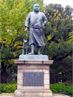 อนุสาวรีย์ท่านไซโก้ ทากาโมริในสวนอุเอโนะ (Ueno Park)