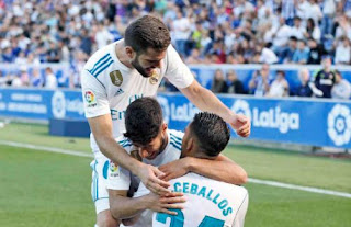 Alavés vs Real Madrid 2-1 Video Gol Highlights - Liga Spanyol Sabtu 23/9/2017