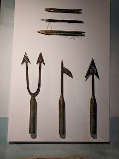 Ecuadorian cholo pescador fishing implements
