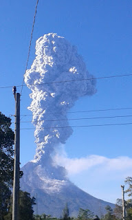eruption of merapi