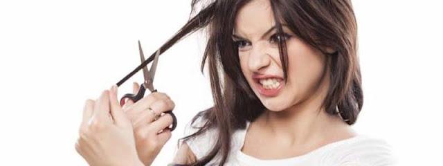 Kebanyakan Cewek Memotong Rambutnya Setelah Putus Cinta