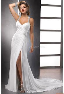 Fotos de vestido de casamento simples bordado