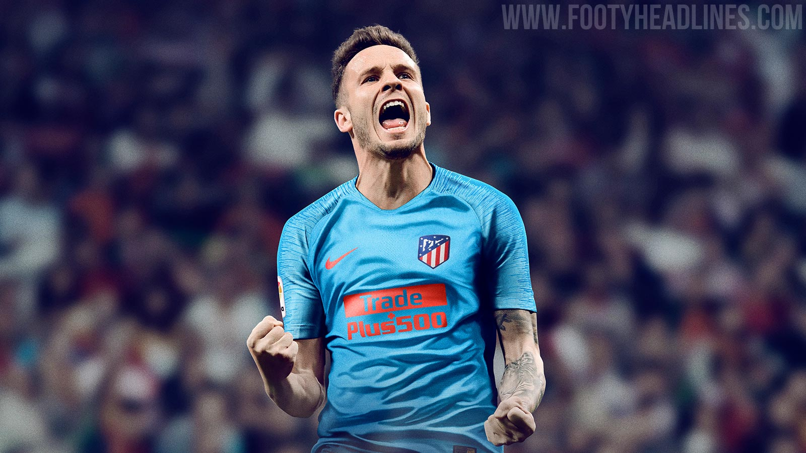 Nike Atltico Madrid 18 19 Away Kit Released Footy Headlines Jersey Atletico Home 2017 2018 Madrids Features A Fresh Look In Bright Blue And Red The New 2019 Was Launched On July
