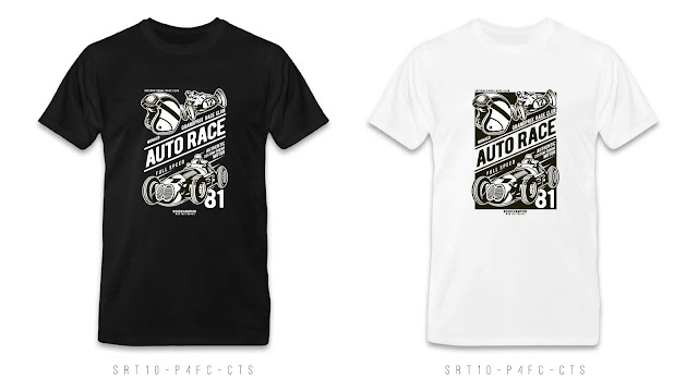 SRT10-P4FC-CTS Retro T Shirt Design, Custom T Shirt Printing
