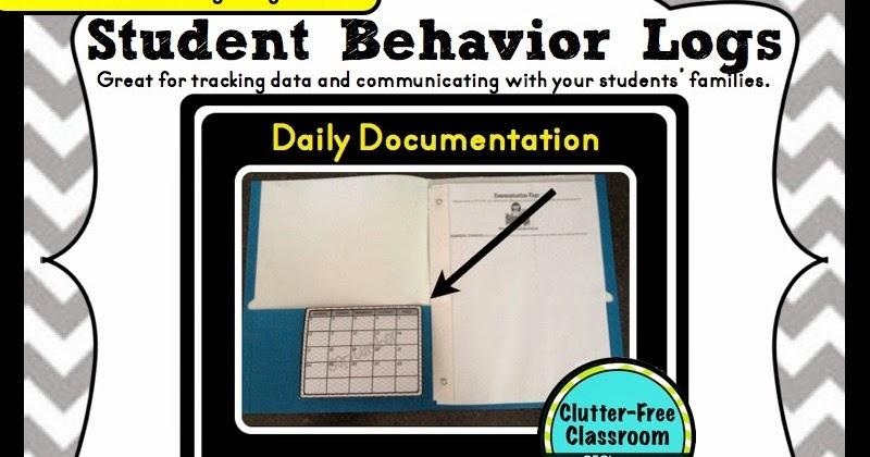 BEHAVIOR CALENDARS {Teacher Tip #22} - Clutter-Free Classroom