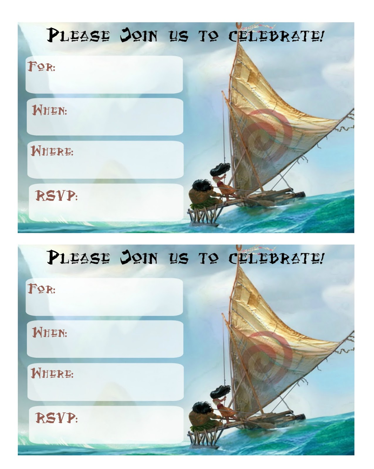 photograph about Moana Sail Printable identify Musings of an Typical Mother: Absolutely free Printable Moana Invites 2