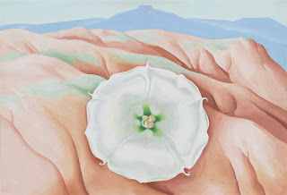 Georgia O'Keeffe Datura and pedernal 1940