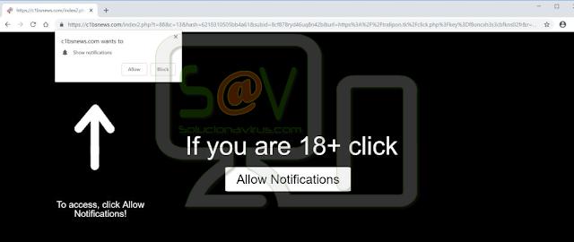 C1bsnews.com pop-ups