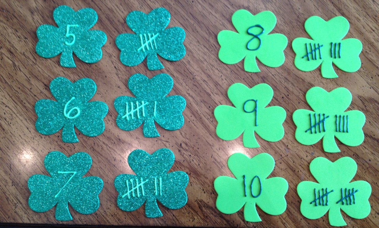 Shamrock Tally Marks