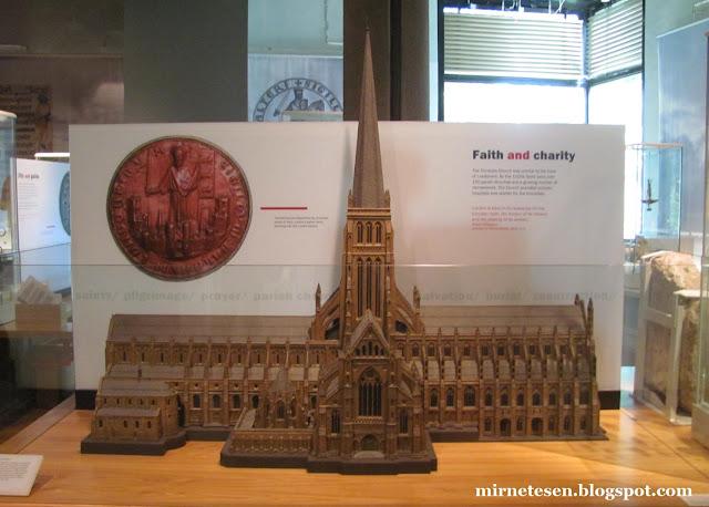 Музей Лондона - Собор Святого Петра 1320 г.