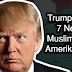 Donald Trump Larang 7 Negara Muslim Ke Amerika Serikat