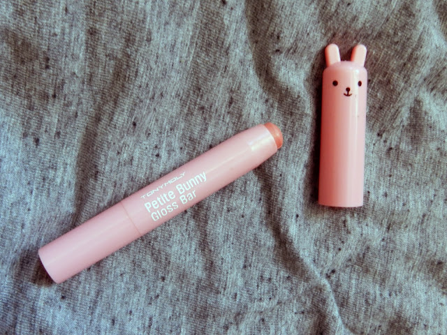 TonyMoly Petite Bunny Gloss Bar in  Juicy Peach