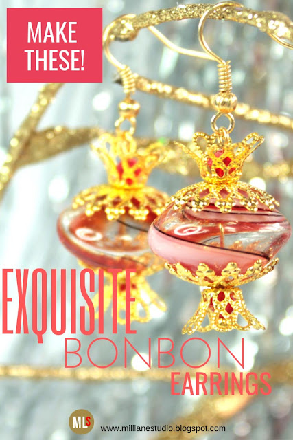 Bonbon earrings Inspiration Sheet