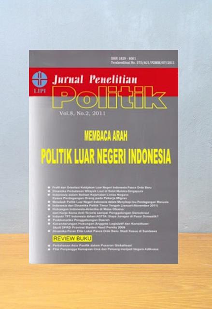 JURNAL PENELITIAN POLITIK VOL.7 NO.1 TAHUN 2010: GOOD GOVERNANCE DAN KORUPSI, Lipi Pres