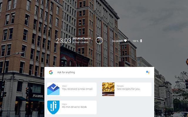 Google Fuchsia скриншоты, скрины, как выглядит
