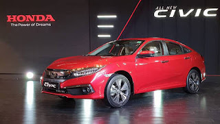 Honda Civic car will launch in India on March 2019