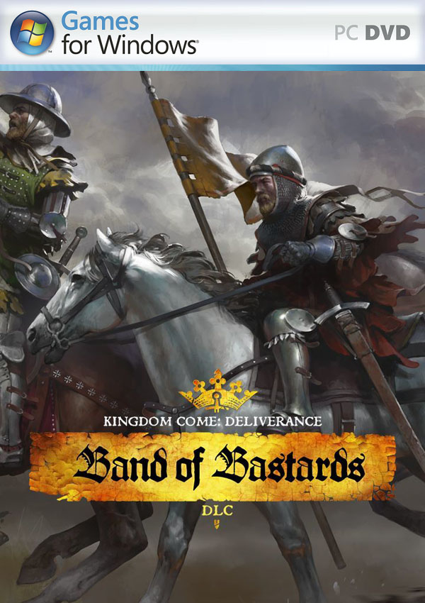 Kingdom Come Deliverance Band of Bastards PC Cover