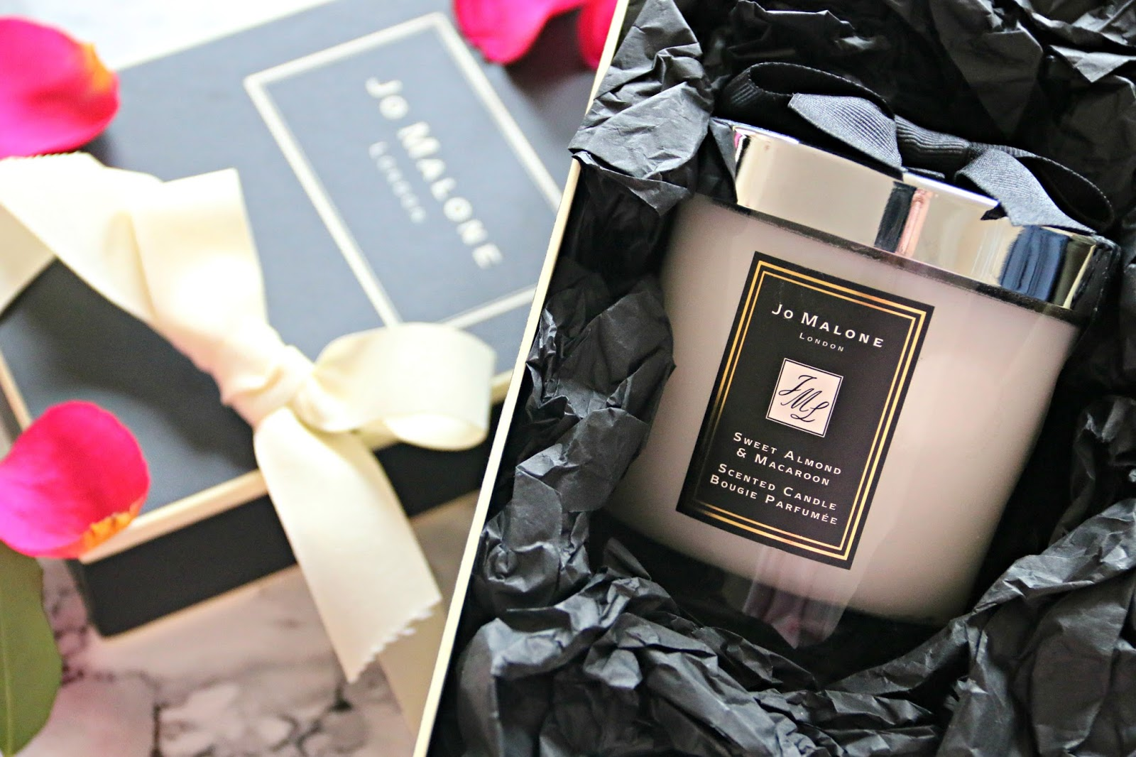 Jo Malone Sweet Almond and Macaroon Home Candle Gift Guide