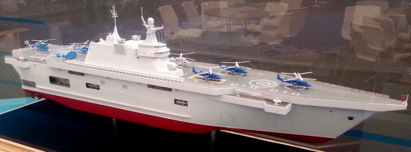 На Росії планують закласти відразу шість великих кораблів