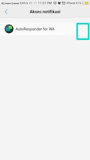 setting awal konfigurasi bot Whatsapp