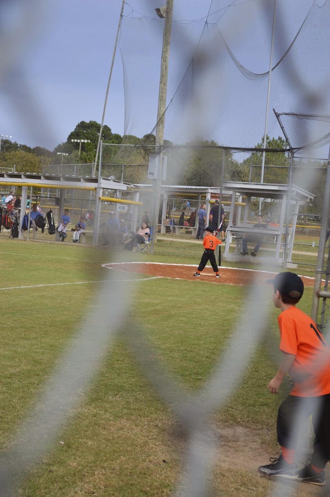 Colt's First Baseball Game!