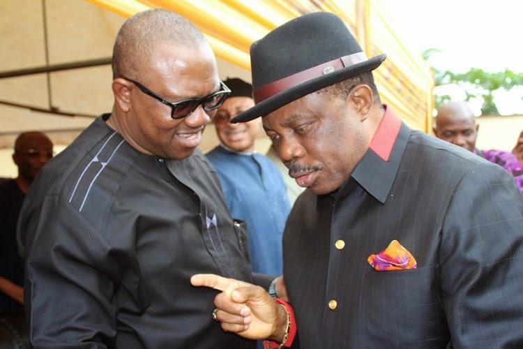 Obiano and his predecessor, Peter Obi