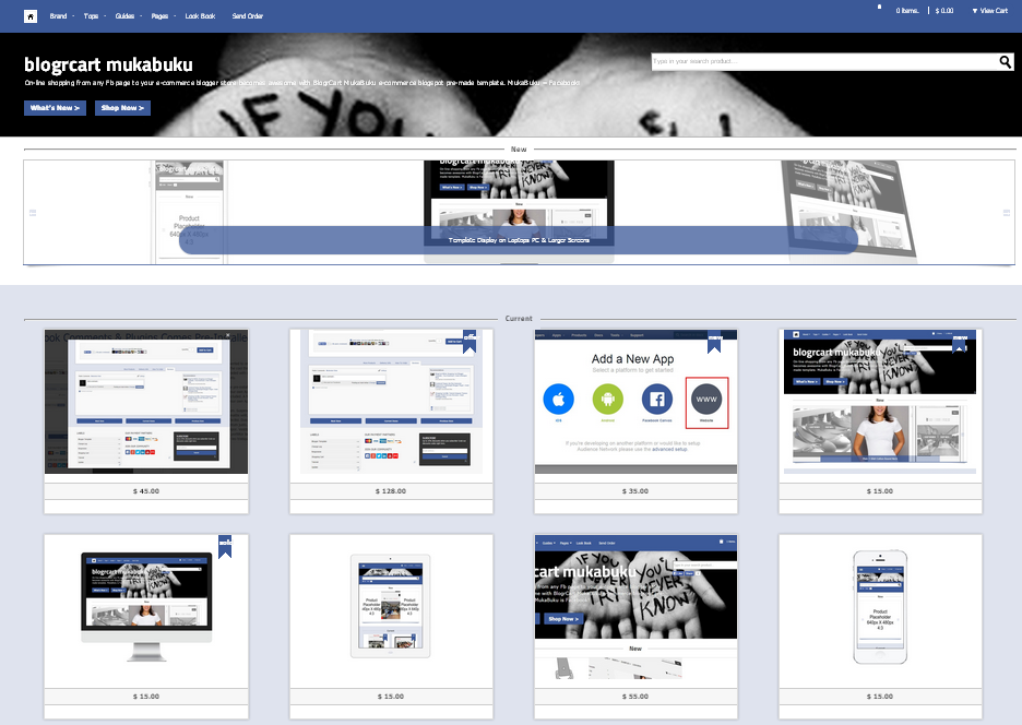 DOWNLOAD FREE 25+ Best Free Responsive eCommerce Blogger Templates ...