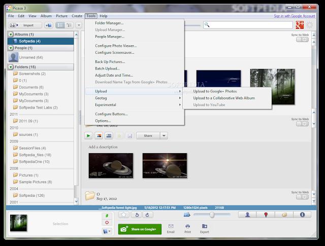 تحميل برنامج بيكاسا Download Picasa 3.9.139 Build 161