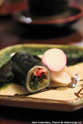 Pickles at Ginza Kojyu in Tokyo, Japan