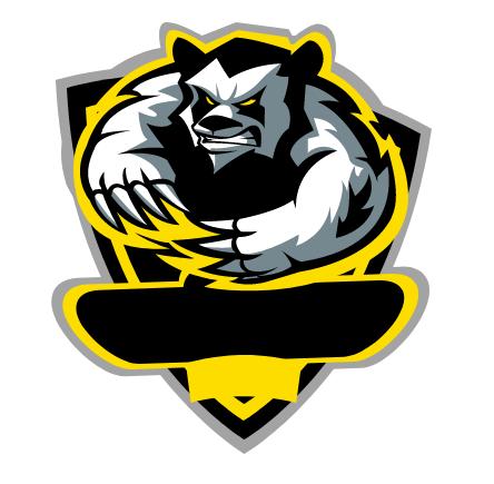 Mentahan Polosan Logo Gaming - Logo Design
