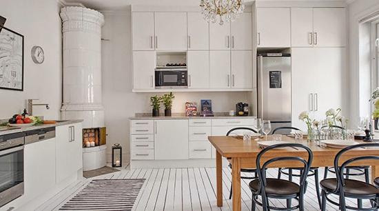 Desain dapur unik bergaya scandinavia