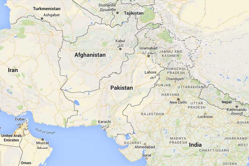 Pakistan Map Nature Cultural And Travel Photography Blog - Pakistan map