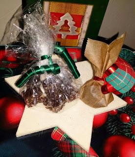 Weihnachtsgeschenk, selbstgemacht, Schokolade