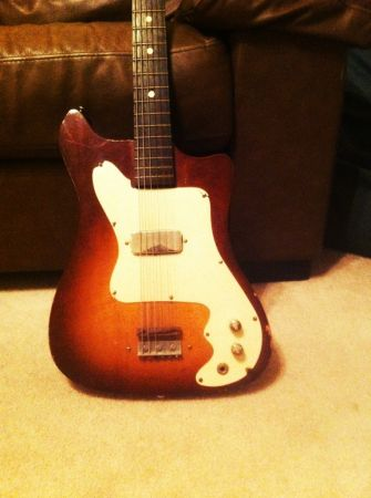 Craigslist vintage guitar hunt kay vanguard in oklahoma for Www craigslist com okc