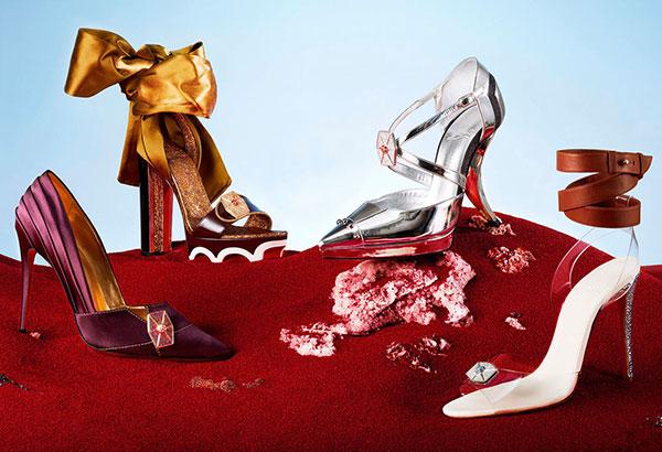 Christian Louboutin colección de zapatos Star Wars