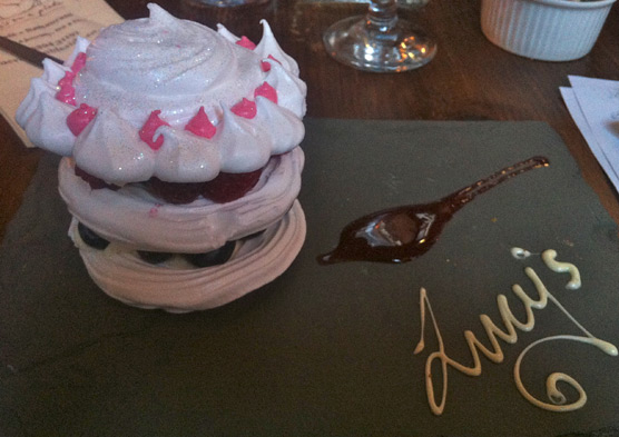 Lucy's of Ambleside Up the Duff Pudding Club - Jubilee Meringue Stack