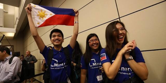 """PH Team in Top 10 at """" International Olympics of Technology"""""""