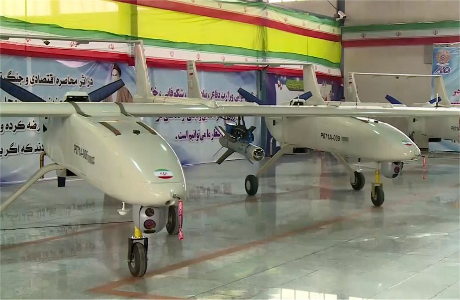 World Defence News: Iran has started mass production of Mohajer-6 armed drone UAV